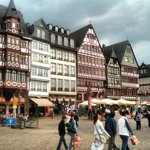 #Frankfurt #Germany #bavarian #holiday #travel  #tourist #vacation  (Taken with instagram)