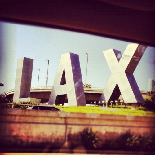 #LAX baby!  (Taken with instagram)