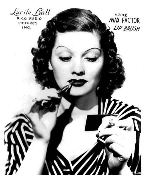 Lucille Ball for Max Factor c. 1930's