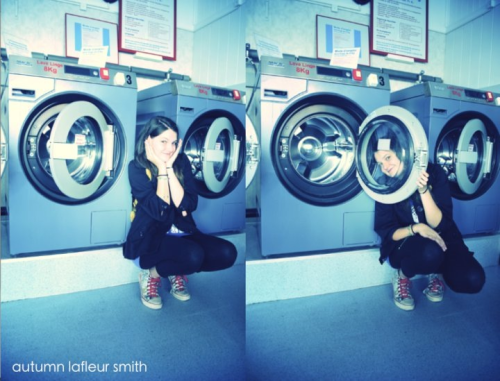 A few years ago at the laundry shop