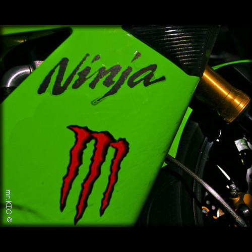 Monster Ninja - that's pretty scary…  Suzuki Ninja By mr.KIO