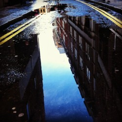 Mega #puddleporn in #london today… Been #puddlehunting again!  (Taken with Instagram at Central St Giles)