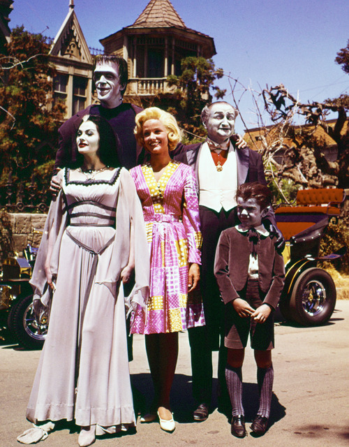 vintagegal:  The Munsters in daylight, 1960's