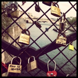 Mystery of the missing love locks.