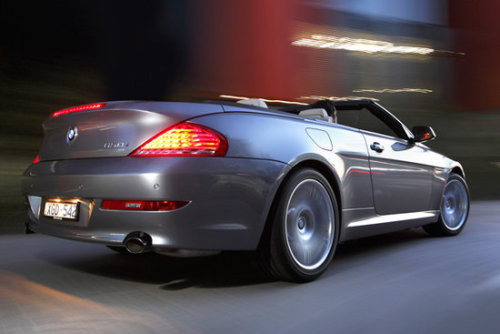 BMW 650i Convertible  . . source