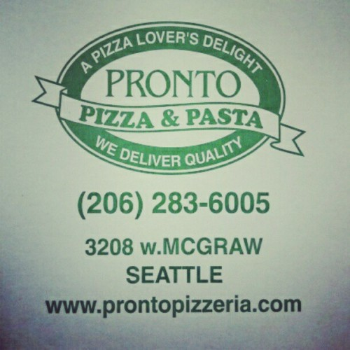 So friggin good. #pizza #seattle  (Taken with instagram)