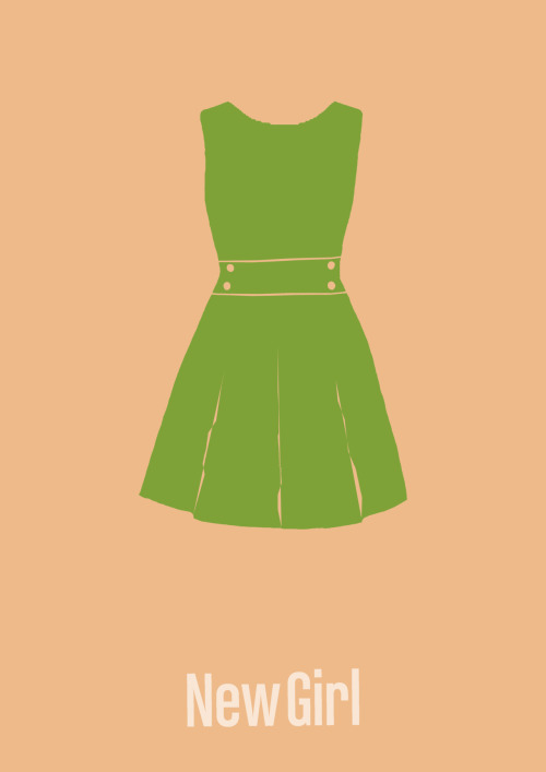 New Girl minimalist poster # 1