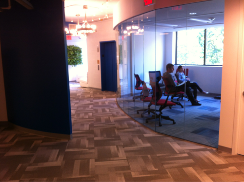 @hellowallet's beautiful new office space (via @zbgoodwin)