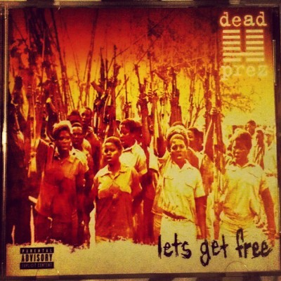 Now playing! #MyAlbumoftheWeek #DeadPrez #LetsGetFree #DP #UndergroundHipHop #UGHH #RealRap #HipHopHeads #HipHop #classic #BiggerThanHipHop #freshbeats #freedom (Taken with instagram)