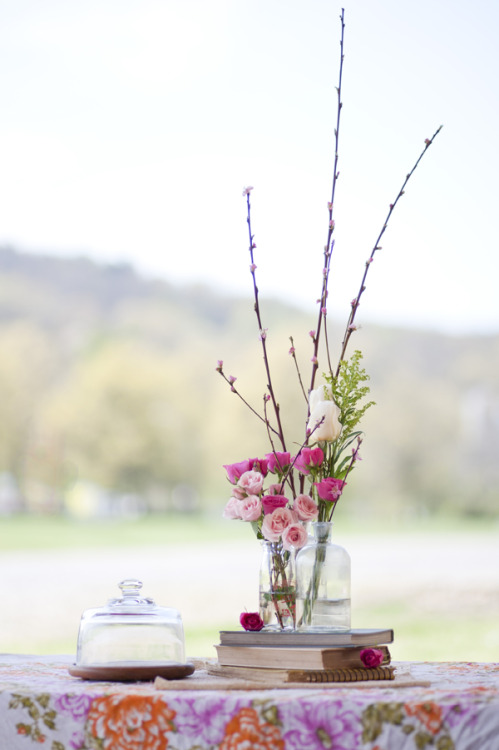 Flower arrangements can cost a pretty penny. If you're on a budget, check out our post on How to Arrange Your Own Wedding Flowers!