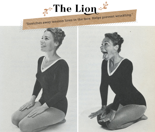 We're tickled pink by these silly vintage beauty tips! Retro Revival: Yoga Beauty Tips for Brides from the 1960s»