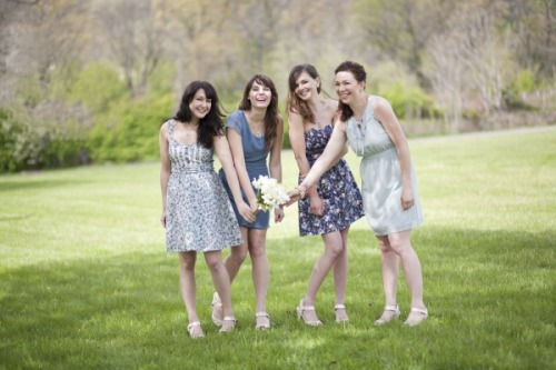 What will the bridesmaids wear? The ModStylists are here to help! Beautiful Bridesmaids: The ModStylists Craft a 'Maids-Worthy Ensemble»