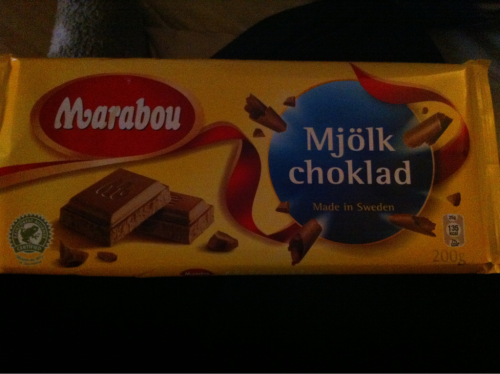 Swedish chocolate! :)