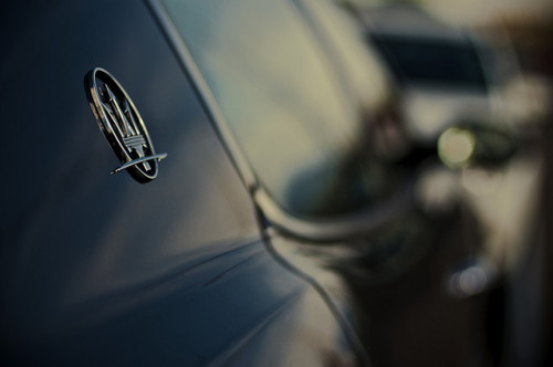 "Today's letter is ""M"" — ""M"" is for Maserati.  by mr.KIO"
