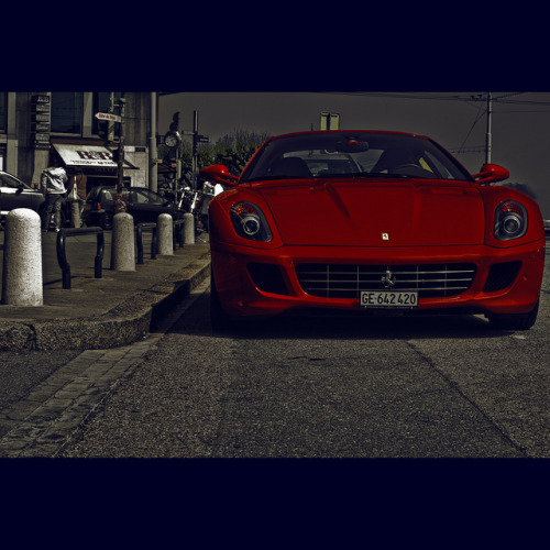 most certainly car porn.  Ferrari 599 GTB by mr.KIO