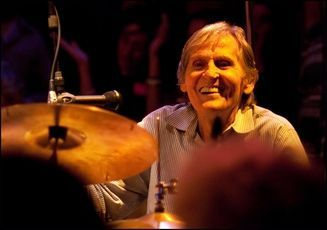 "Levon Helm, former leader of The Band, dies at 71 From The Times Herald-Record: ""We lost Levon at 1:30 today surrounded by friends and family and his musicians have visited him,"" said Larry Campbell, Helm's longtime guitarist and band leader. ""As sad as this was, it was very peaceful."" (Photo: John DeSanto/Times Herald-Record)"