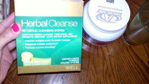 Here is the Advocare herbal cleanse that I am doing. It is for 10 days and I am combining it with Advocare Spark.  It is good to do a yearly cleanse to get rid of all the bad toxins in your body and this one is really quite gentle. It's not like how people think that cleanses are and by that I mean it does not give you the runs. lol I really recommend it to everyone who is looking to start a weightloss journey or simply for well being (which is the reason I'm doing it). I weighed myself in the begginning to see if my weight changes or stays the same. I am however, eating alot of lean protein, veggies, fruits, whole grains and staying away from all processed foods, oils, etc.  The point of this cleanse is to eat clean while doing it to get the maximum results. I am also continuing my 6 day a week exercise plan. I find that the first two days I was eating more than my usual 6 meals a day, but today on Day 3 I find that I'm quite full all the time. I feel REALLY REALLY good! Again, the purpose of my exercise regime is to gain muscle and tone not necessarily lose weight (although some people do get weightloss results by following the exercise routine I am doing). Feeling awesome every day! :) If you want more information on Advocare products or want to order one for yourself here is a link: https://www.advocare.com/11023440/Store/default.aspx  Do you do believe in herbal yearly cleansing?