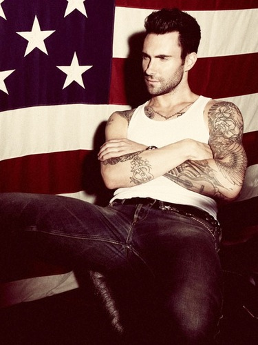 Thank you America. Adam Levine you sexy beast.
