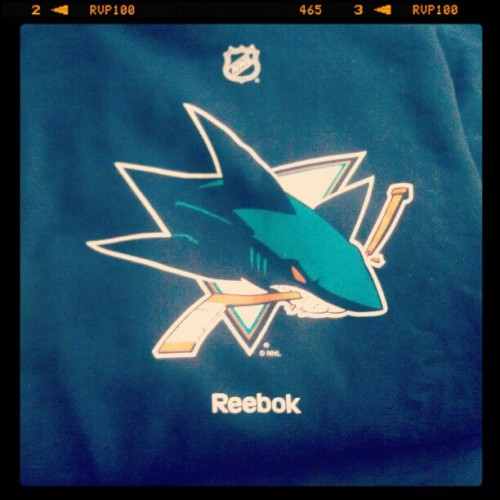 Look What Came Look What Came!! #Sharks #SanJose #Hockey #Swag! (Taken with instagram)