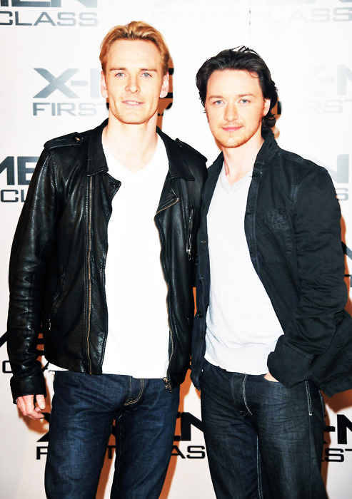It started as just Cherik… But now its full blown Mcfassy! Its ok you guys… I dont need a life, I am perfectly ok at staring at you and reading about you all day:3