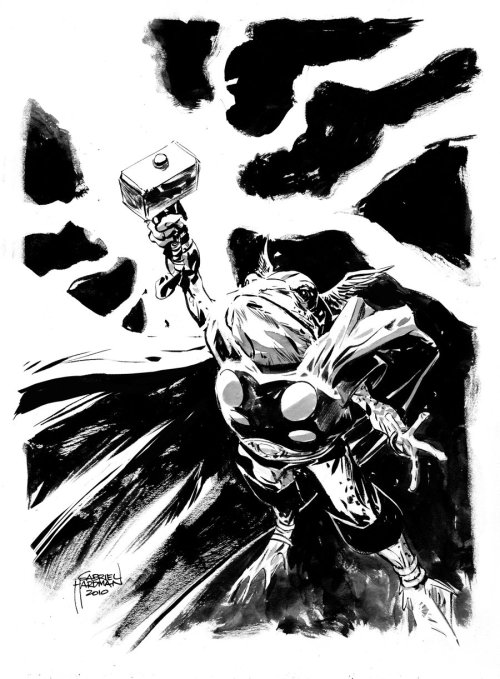 lulubonanza:  Frog Thor Sketch by ~heathencomics  Throg!