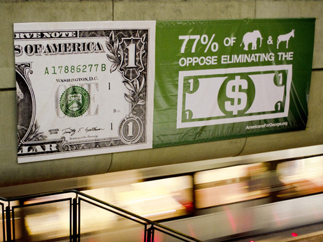 planetmoney:  Should We Kill The Dollar Bill?