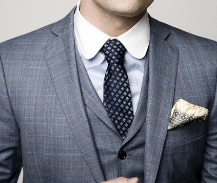 #DressWell feeling the texture and pattern here thetieguy:  anyone know where i can find a club collar?