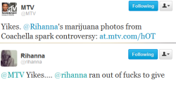 tropicalblush:  lmfao, this is why i love her