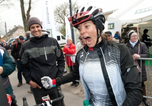 womenscycling:   Evie Stevens after the Flèche Wallonne (via Stevens Q&A: 'This is the biggest win of my career') It's a fantastic Q&A too - head over and read it!