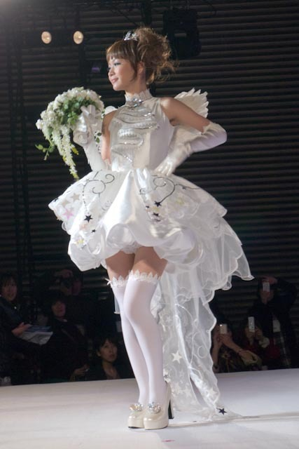 CLAMP inspired wedding dress, based on Cardcaptor Sakura. Cute, no? :3