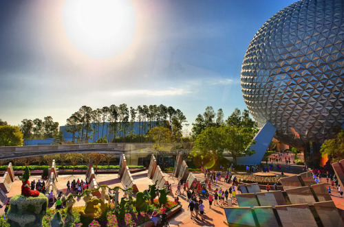 Epcot - Ready to Start by Express Monorail on Flickr.