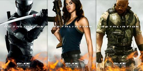 I'm confused. There is a movie poster of an action movie with a woman on it and her ass isn't facing me. I don't understand.