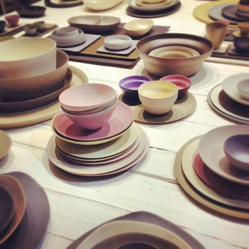 Rina Menardi - handmade, super thin, colorful ceramics from Italy _ By Apartment Therapy