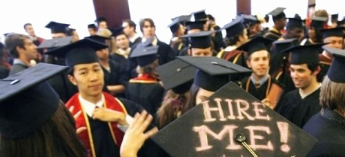 theatlantic:  The Paradox of College: The Rising Cost of Going (and Not Going!) to School  Have you heard about the dangerous, rising cost of not going to college? In the last 30 years, the typical college tuition has tripled. But over the exact same period, the earnings gap between college-educated adults and high school graduates has also tripled. In 1979, the wage difference was 75%. In 2003, it was 230%. Over the last three decades, the cost of going to college has increased at nearly the exact same rate as the cost not going to college. How can the price of getting something and not getting something both rise at the same time? That is the paradox of college costs. Read more. [Image: Reuters]   College attendance has become a paradox…