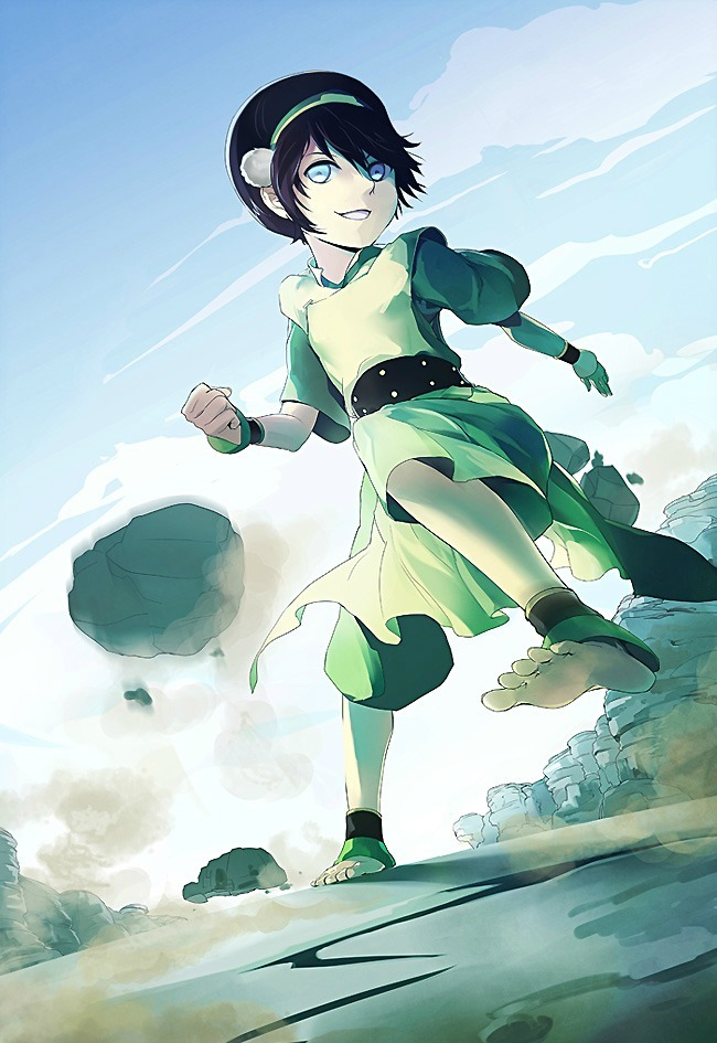 The Greatest Earthbender, by Akimiya.