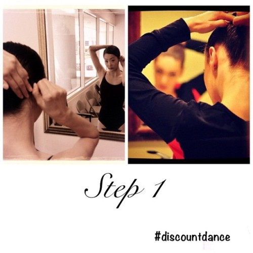 A skill every dancer knows and is the first thing you learn. The Bun.