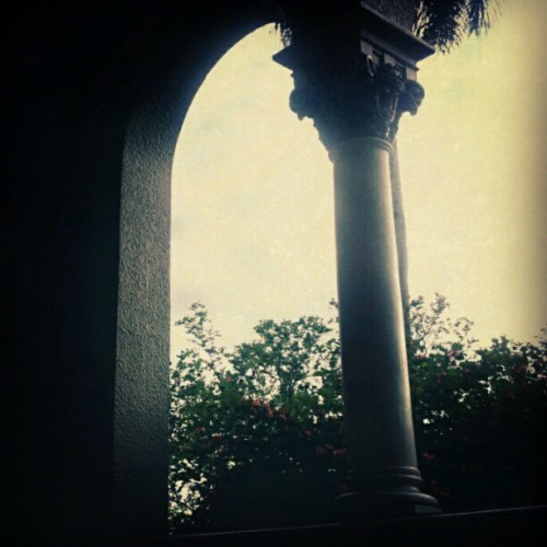 UPR - Pasillo de la Rotonda (Taken with instagram)