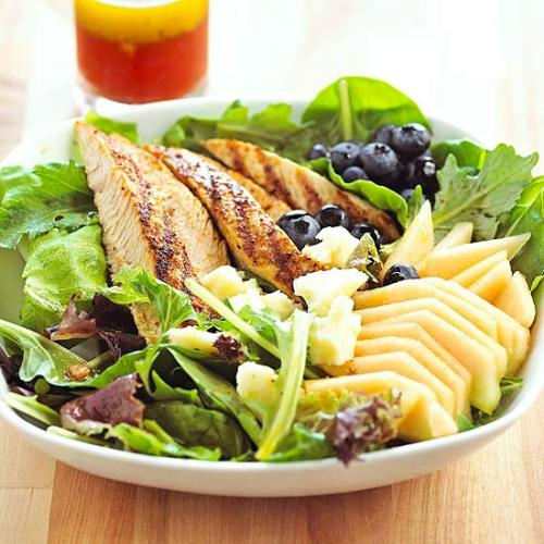 Daily Dish: Toss this fresh Cajun Turkey & Fresh Melon Salad together in less than 20 minutes!
