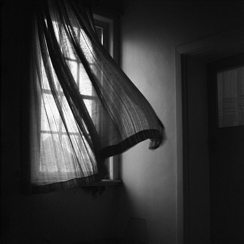 thepostofsomethingelse:  An overwhelming dread came over me … the window was closed. by thescatteredimage on Flickr.