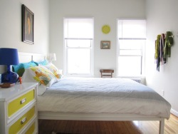 "Take a look at my friend Andrea's cool Brooklyn digs on Apartment Therapy.  If you like it, please vote for her.  She's got a great eye for design AND she's had a rough time lately, so we'd love to see her win. mynylife:  My little Brooklyn cottage is up on Apartment Therapy's Small, Cool 2012 contest! If you want to see more pictures of it, please go to the contest page. And if you like it, perhaps you might click on the ""favorite"" button. And I can't help but say it: Every vote counts. I was in it two years ago and lost by 8 votes."