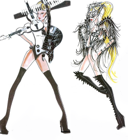 BornThisWayBall outfits by Armani.