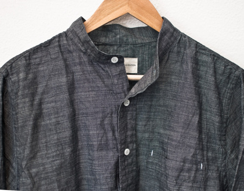 Faded Denim Twill Shirt