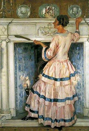 William Bruce Ellis Ranken Mrs Kelsey in Pink 1919