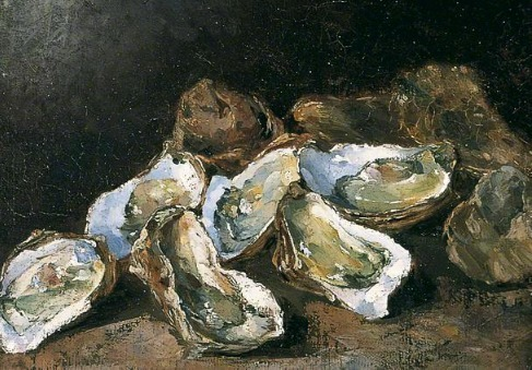 Augustin Théodule Ribot Still Life with Oysters 19th century