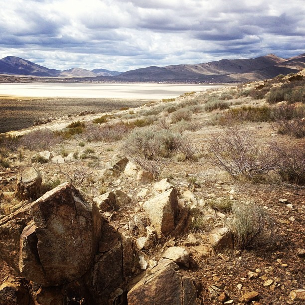 Cold Springs Nevada. #rockhounding #iphonephoto #nature #nevada #desert #landscape #lake #coldsprings (Taken with instagram)