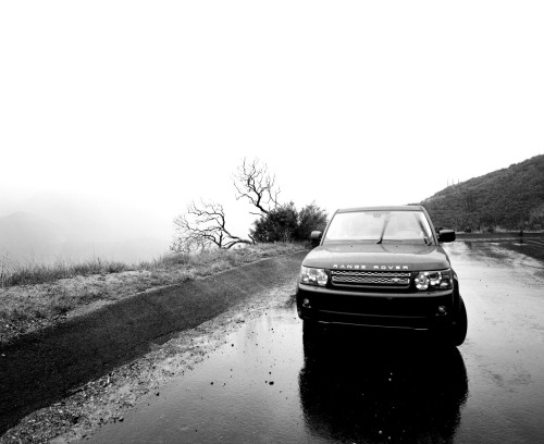 Rover #21  landroverusa:  Hidden Forest Just a short drive north from the lights of Hollywood brings mountainous inspiration for photographer Adam Goldberg. As the rain begins to fall again, the light shifts and the cloud formations create new photographic opportunities in black and white.