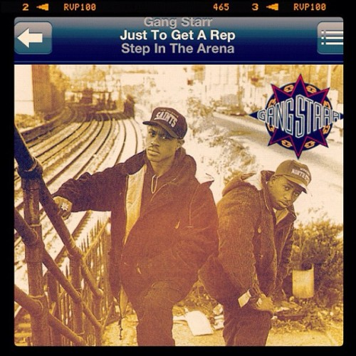 #GangStarr #GURU #DJPremier #StepInTheArena #Classic #HipHop (Taken with instagram)