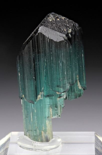 mineralia:  Elbaite from Mozambique for auction by Dan Weinrich