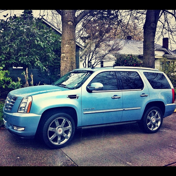 Who wants a ride?  #loaner #babyblue (Taken with instagram)
