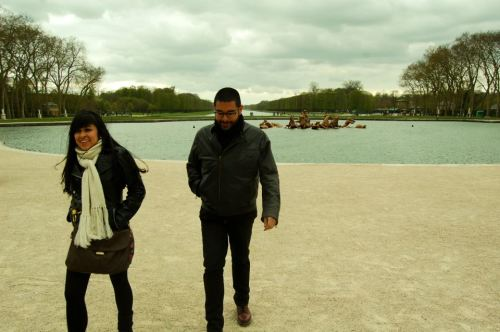 Versailles with the brodah too.